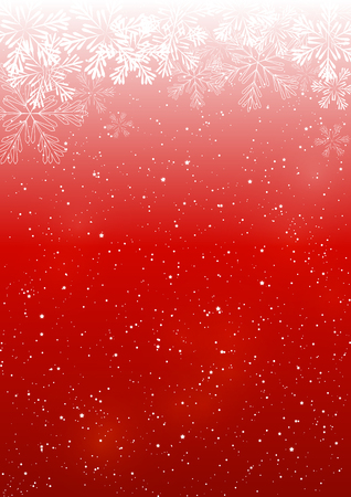 holiday ornament: Christmas snowflakes background for Your design