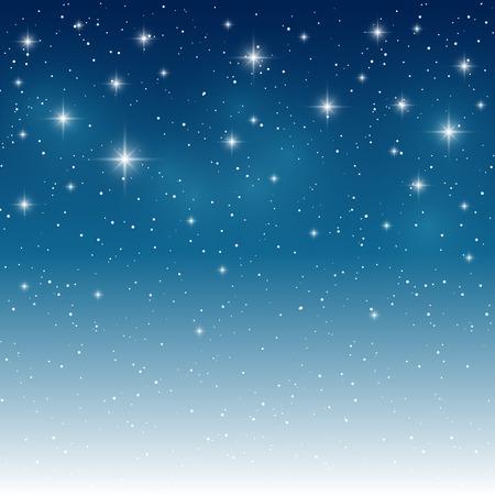 귀하의 디자인에 대 한 별이 빛나는 밝은 배경 일러스트