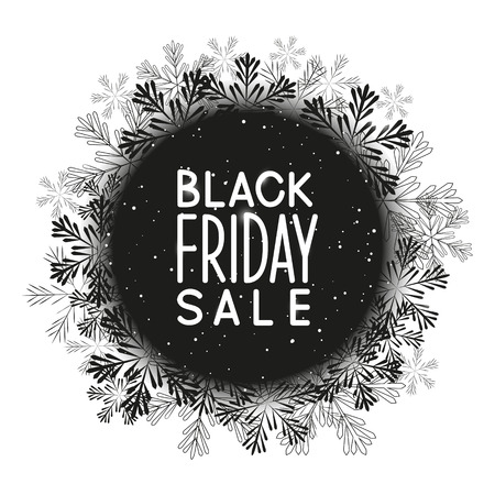 shiny black: Black friday concept for Your design