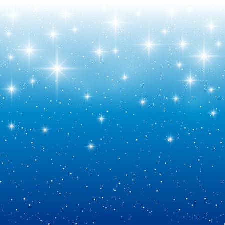 night background: Starry light background for Your design Illustration
