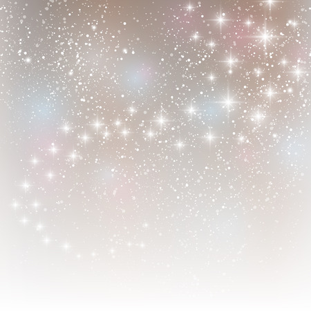 illuminated: Starry light background for Your design Illustration