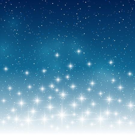night background: Starry light background for Your design Illustration