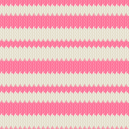 warm clothing: Seamless knitted pattern for Your design Illustration