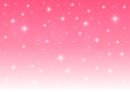 happy christmas: Starry pink background for Your design