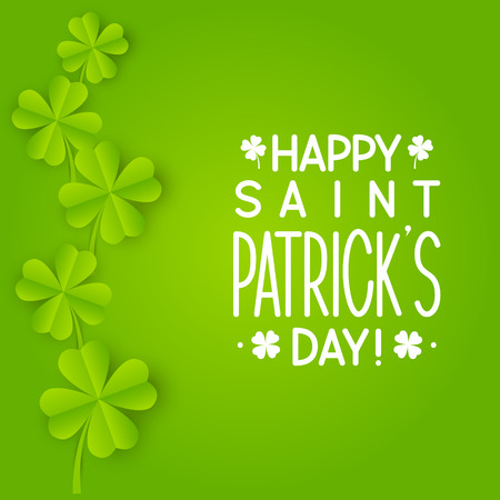 irish culture: Greeting card for Saint Patricks day