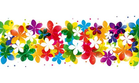 floral border: Floral border for Your design