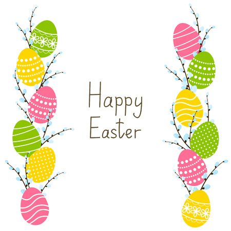 Easter border for Your design