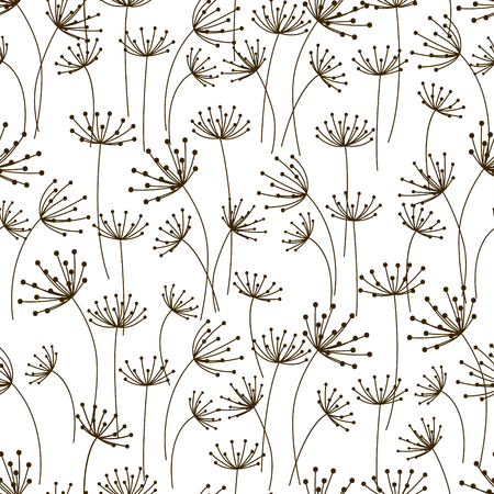 graphic pattern: Seamless pattern with floral ornate Illustration