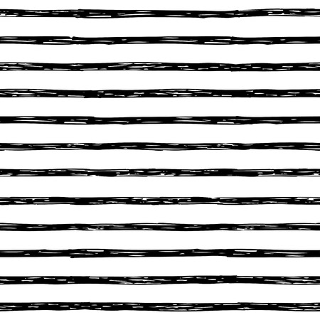 stripes seamless: Seamless pattern with hand drawn stripes