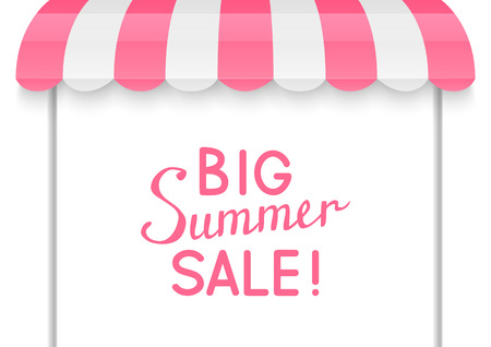 Summer sale concept for Your design Illustration