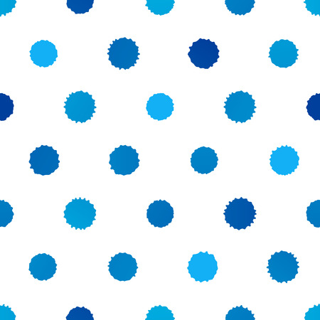 blobs: Seamless pattern with paint blobs