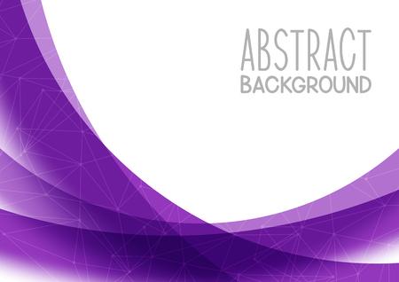 あなたの設計のための抽象的な紫色の背景  イラスト・ベクター素材