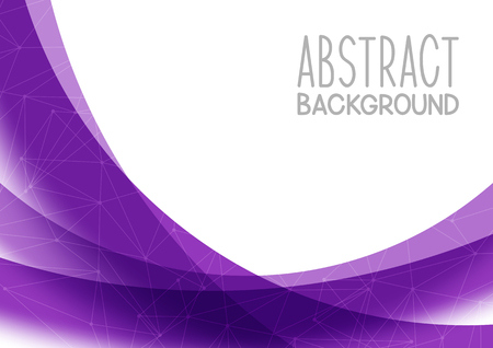 Abstract purple background for Your design