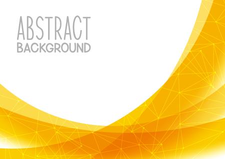 Fundo amarelo abstrato para seu projeto Ilustração