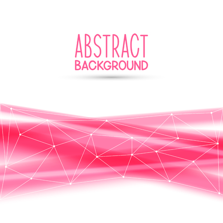 transparent background: Abstract background with pink elements