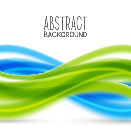 blue and green: Abstract background with blue and green elements Illustration