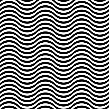 Naadloos patroon met abstracte golf overladen