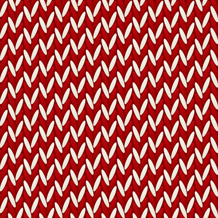 knit: Seamless pattern with knitted texture