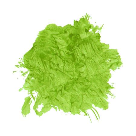 paint splash: Green paint splash for Your design
