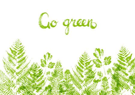 borders plants: Green leaves border for Your design