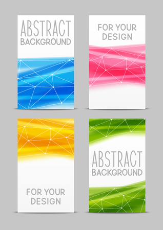 motion modern: Set of 240 x 400 size vertical banners for Your design