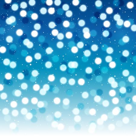 shiny background: Blue background with shiny bokeh
