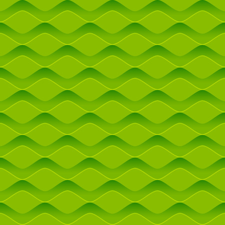 pattern: Seamless pattern with green relief ornate