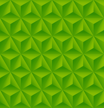 industry pattern: Seamless pattern with green triangular relief