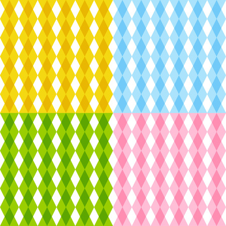 industry pattern: Set of color seamless patterns
