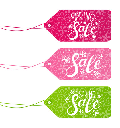 paper tags: Set of sale paper tags