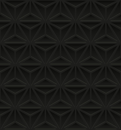 industry pattern: Seamless pattern with black geometric ornate