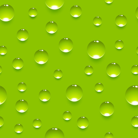 Seamless pattern with juicy bubbles Illustration