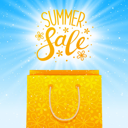 Summer sale concept for your design.