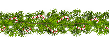 Christmas tree candy canes