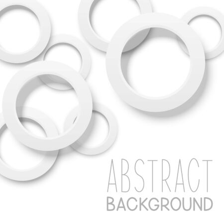 Abstract background with circle Ilustrace