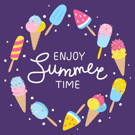 Your summer design Ilustrace