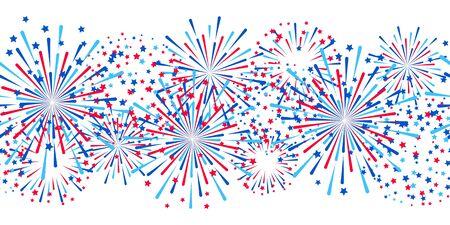Independence day design  イラスト・ベクター素材