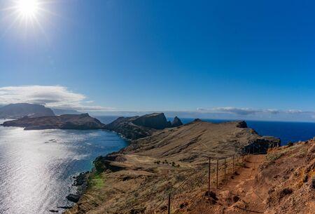 Panorama view on island in the atlantic sea, Ponta de sao laurence, Madeira, Portugal Stockfoto