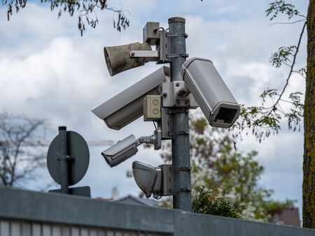 CCTV systems on the pillars of security technologies to watch.