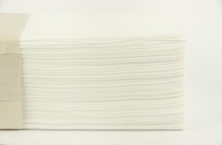 absorbent: Lying paper napkins. Horizontal photo