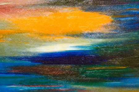 Good watercolor smears of bright color: yellow, blue, green. Big size