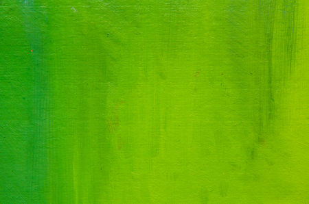 Beautiful light green paint on canvas. A few inaccurate smears