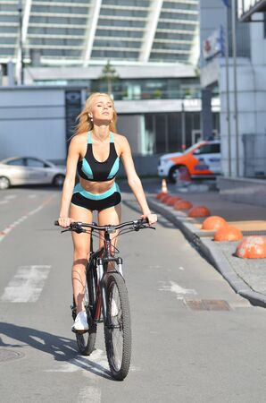 Samantha Going For Bicycle Ride Blonde 1