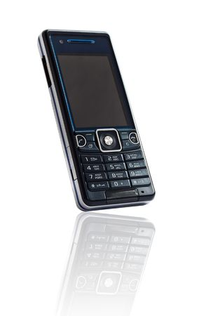 Mobile phone isolated on white background Stock Photo - 7517414