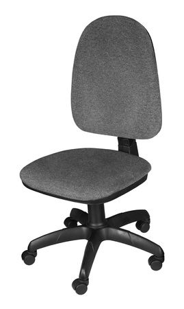 Office chair isolated on white background photo