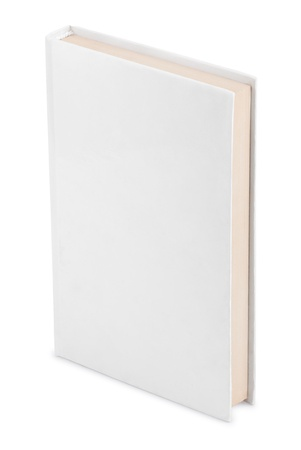 hardcovers: Closed book  isolated on white background