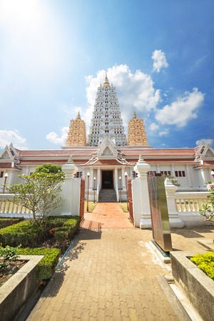 Wat Yan Buddhist Temple in Pattaya, Chonburi province, Thailand photo