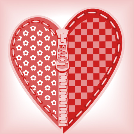 Valentines Day. heart 4. Similar in a portfolio Vector