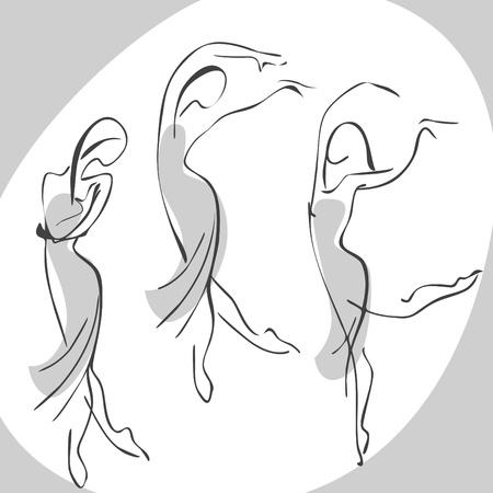 rejoice: dancing woman