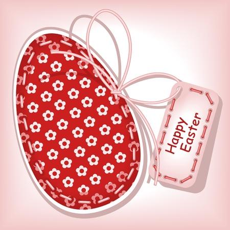 burgundy ribbon: Buona Pasqua 2. cucitura a macchina.